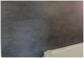 Betegelen badkamer klusbedrijf wiel van booden - Betegelen van natuurstenen badkamer ...